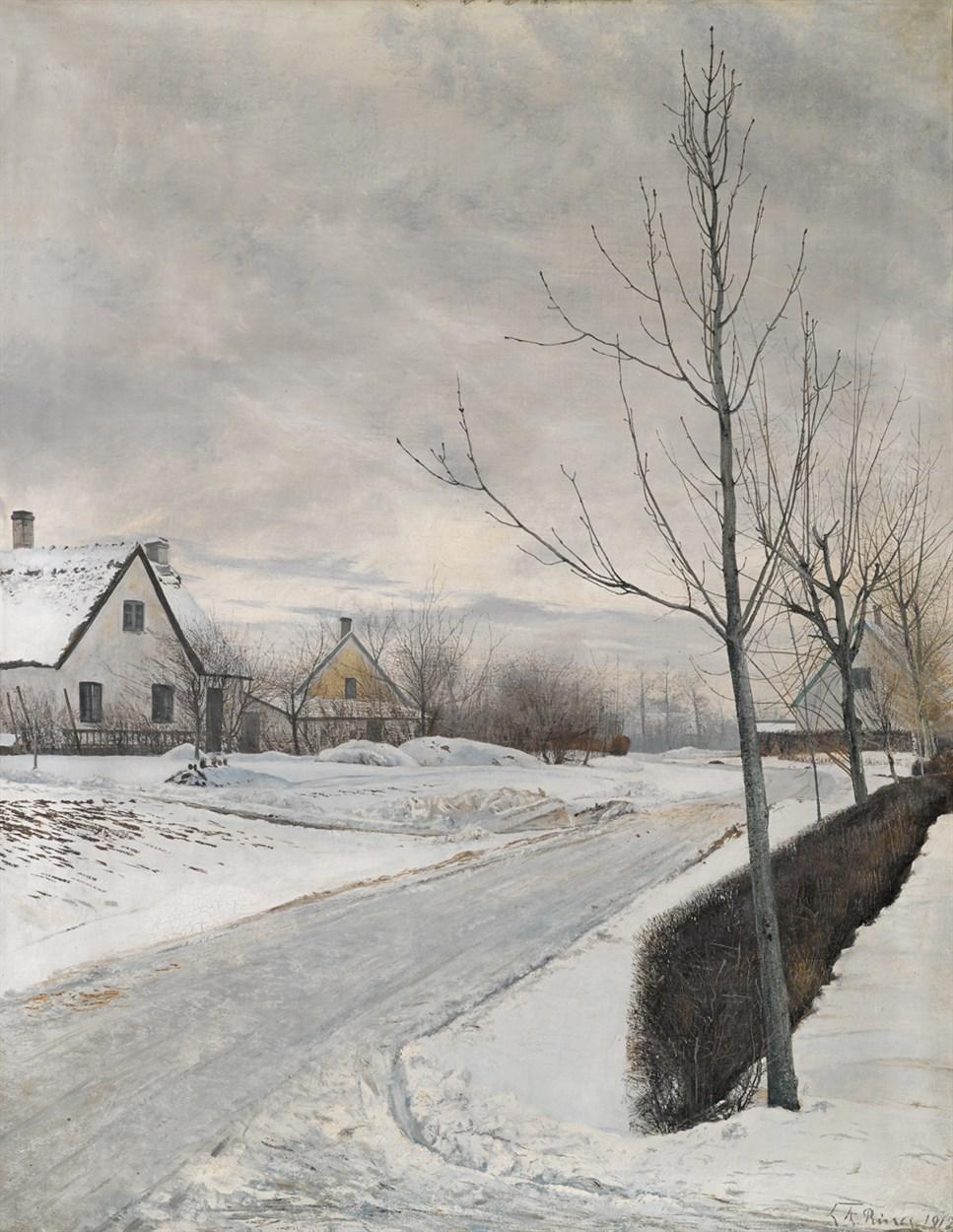 Lot 28 - LAURITS ANDERSEN RING  (DANISH 1854-1933)