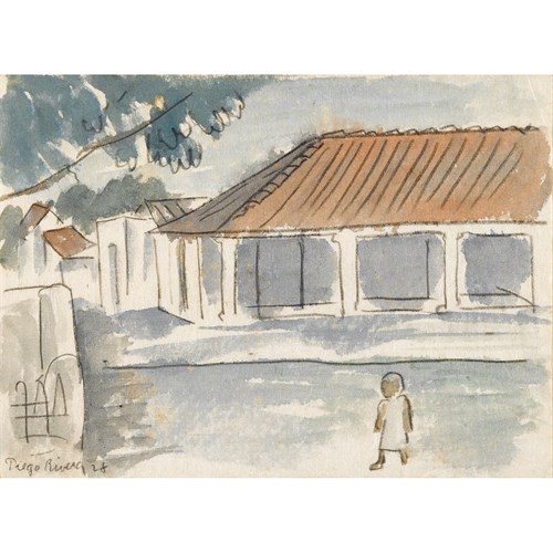 Lot 52 - DIEGO RIVERA  (MEXICAN, 1886-1957)
