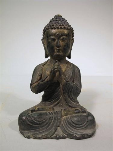 Lot 83 - Chinese Ming-style Buddha
