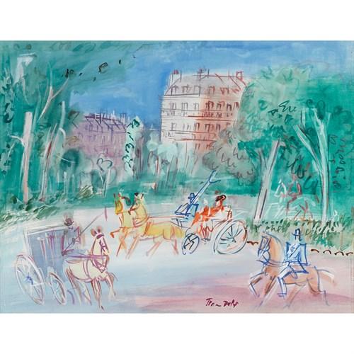Lot 1 - JEAN DUFY  (FRENCH, 1888-1964)