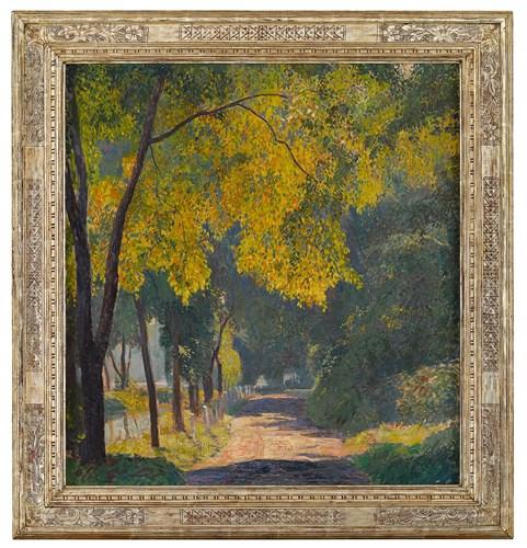 Lot 158 - Daniel Garber (American, 1880-1958)