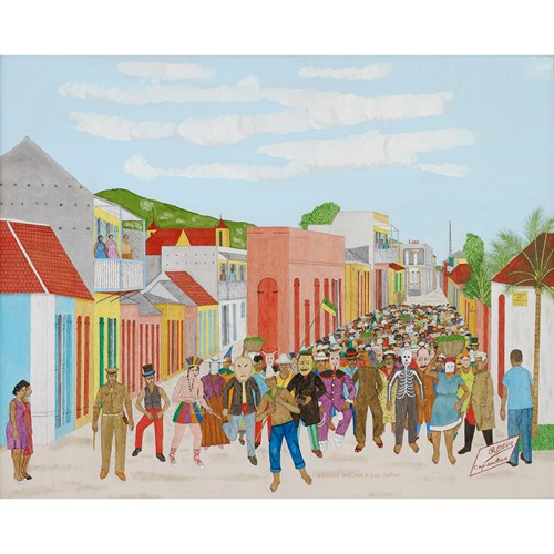 Lot 42 - PHILOME OBIN  (HAITIAN, 1892-1986)