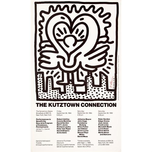 Lot 97 - KEITH HARING  (AMERICAN, 1958-1990)