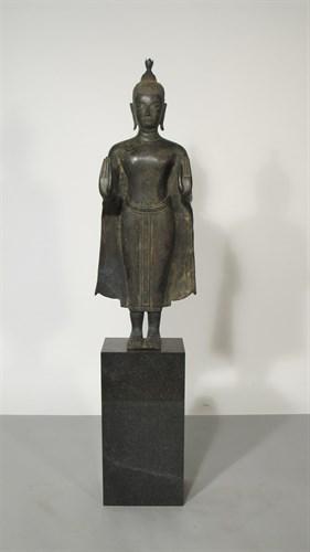 Lot 78 - Thai bronze Buddha