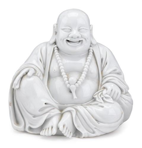 Lot 51 - Chinese blanc de chine Budai