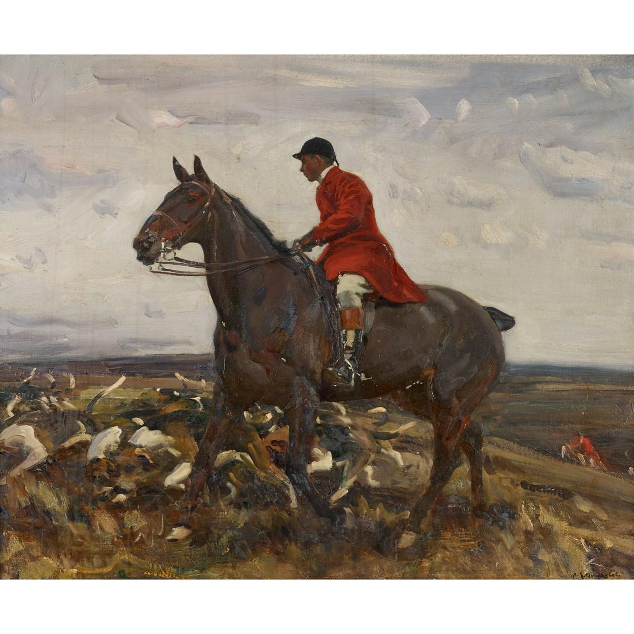 Lot 79 - Sir Alfred Munnings (British, 1878-1959)