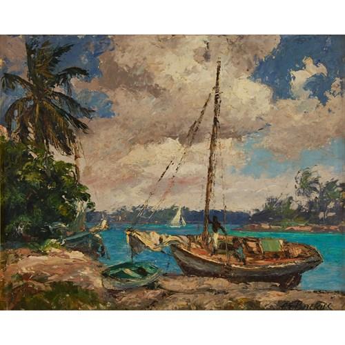Lot 69 - ALBERT E. BACKUS  (AMERICAN 1906-1991)