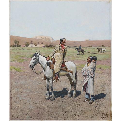 Lot 73 - HENRY F. FARNY  (AMERICAN 1847-1916)