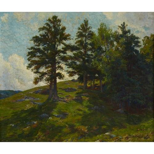 Lot 12 - HUGH BOLTON JONES  (AMERICAN 1848-1927)