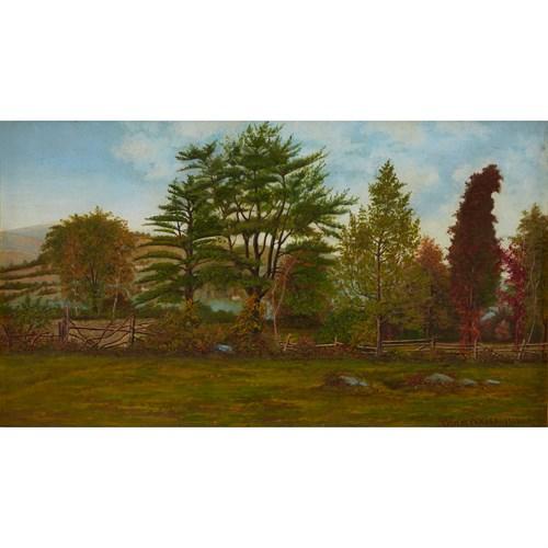 Lot 13 - THOMAS HOTCHKISS  (AMERICAN 1834-1869)