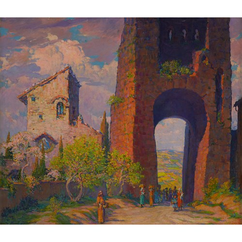 Lot 91 - NICOLA D'ASCENZO  (AMERICAN 1871-1954)