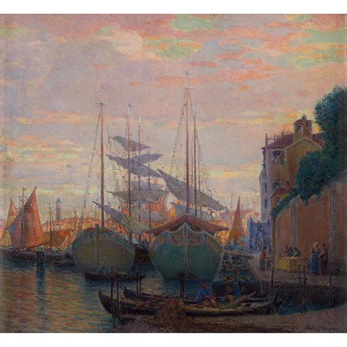 Lot 90 - NICOLA D'ASCENZO  (AMERICAN 1871-1954)