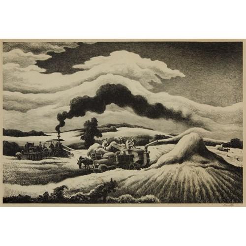 Lot 3 - THOMAS HART BENTON  (AMERICAN 1889-1975)