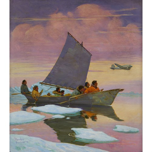 Lot 59 - MAGNUS COLCORD HEURLIN  (AMERICAN 1895-1986)