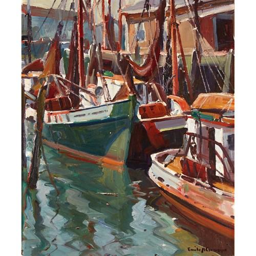 Lot 43 - EMILE ALBERT GRUPPE  (AMERICAN 1896-1978)