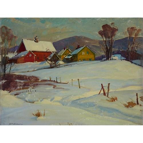 Lot 55 - ALDRO THOMPSON HIBBARD  (AMERICAN 1886-1972)