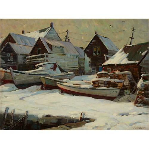 Lot 54 - ALDRO THOMPSON HIBBARD  (AMERICAN 1886-1972)
