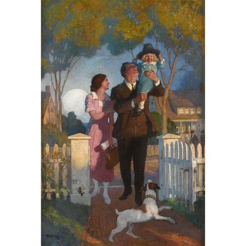 Lot 80 - NEWELL CONVERS WYETH  (AMERICAN 1882-1945)
