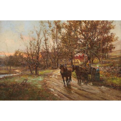 Lot 93 - FRANK F. ENGLISH  (AMERICAN 1854-1922)