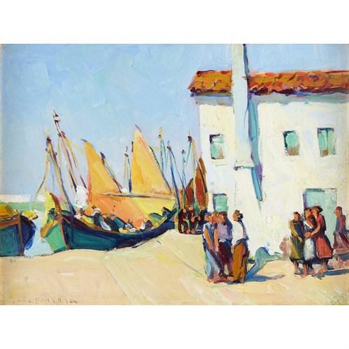 Lot 45 - JANE PETERSON  (AMERICAN 1876-1965)