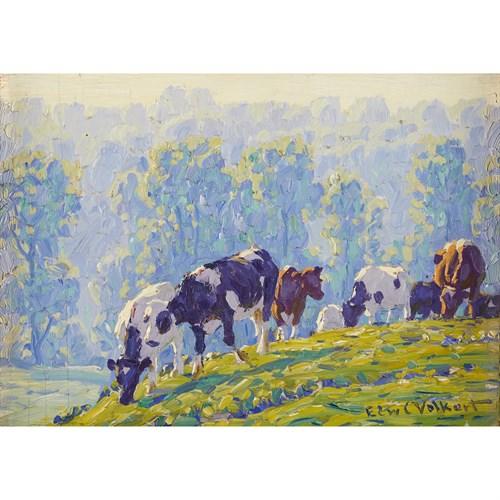 Lot 17B - EDWARD CHARLES VOLKERT  (AMERICAN 1871-1935)