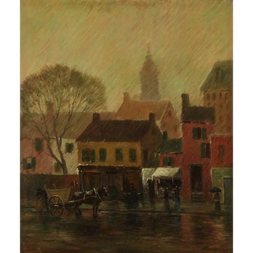 Lot 31 - ALEXANDER THEOBALD VAN LAER  (AMERICAN 1857-1920)