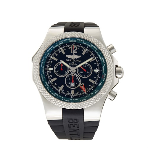 Lot 94 - Breitling Bentley GMT Limited Edition Ref.A47362S4/B919 c. 2010