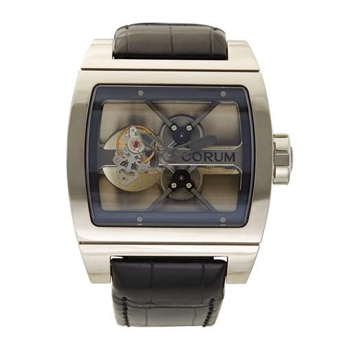 Lot 91 - Corum Ti-Bridge Tourbillon Limited Edition Ref.022.700.04/0F01 c. 2010