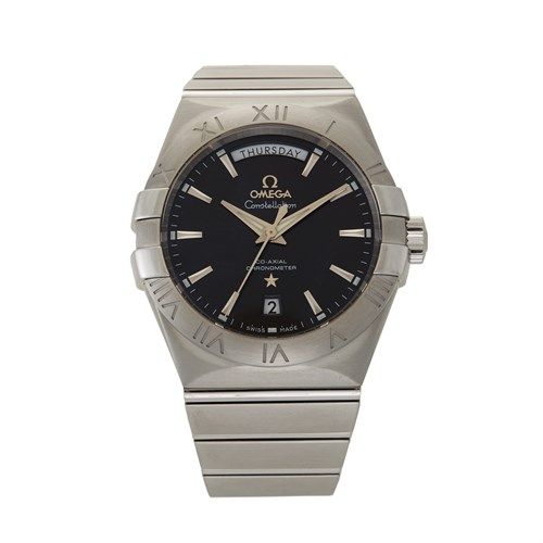 Lot 80 - Omega Constellation Day-Date Ref.123.10.38.22.01.001 c. 2010