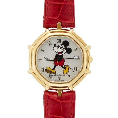 Lot 70 - Gerald Genta Mickey Mouse Ref.G2350.7 c. 2000