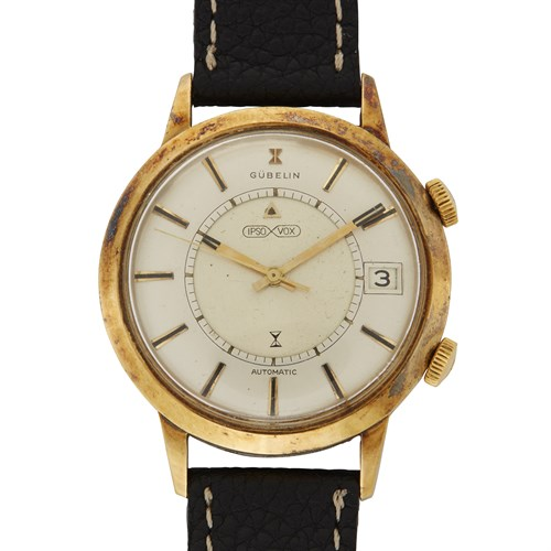 Lot 35 - Gubelin by Jaeger-LeCoultre IpsoVox c. 1956