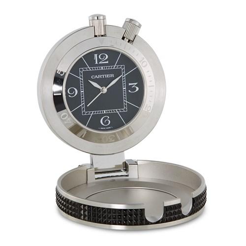 Lot 16 - Cartier Pasha Clock Ref.W0100058 c. 2010