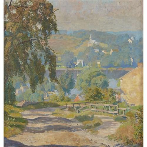 Lot 123 - Daniel Garber (American, 1880-1958)