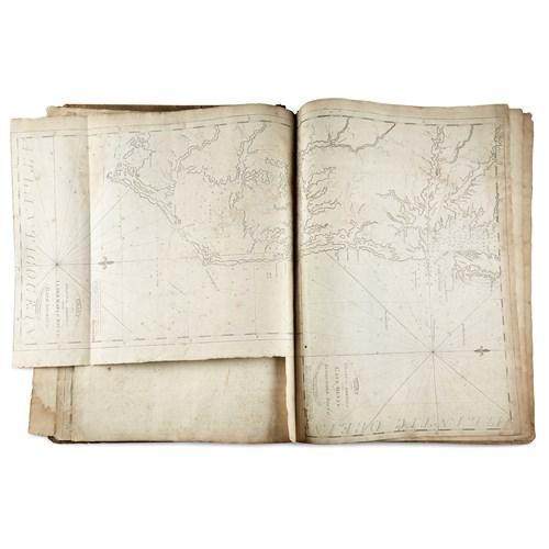 Lot 121 - (American Maps) 1 Vol. [Clark, Matthew;...