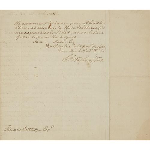 Lot 164 - (Autograph Material) 1 Piece. Autograph Letter...