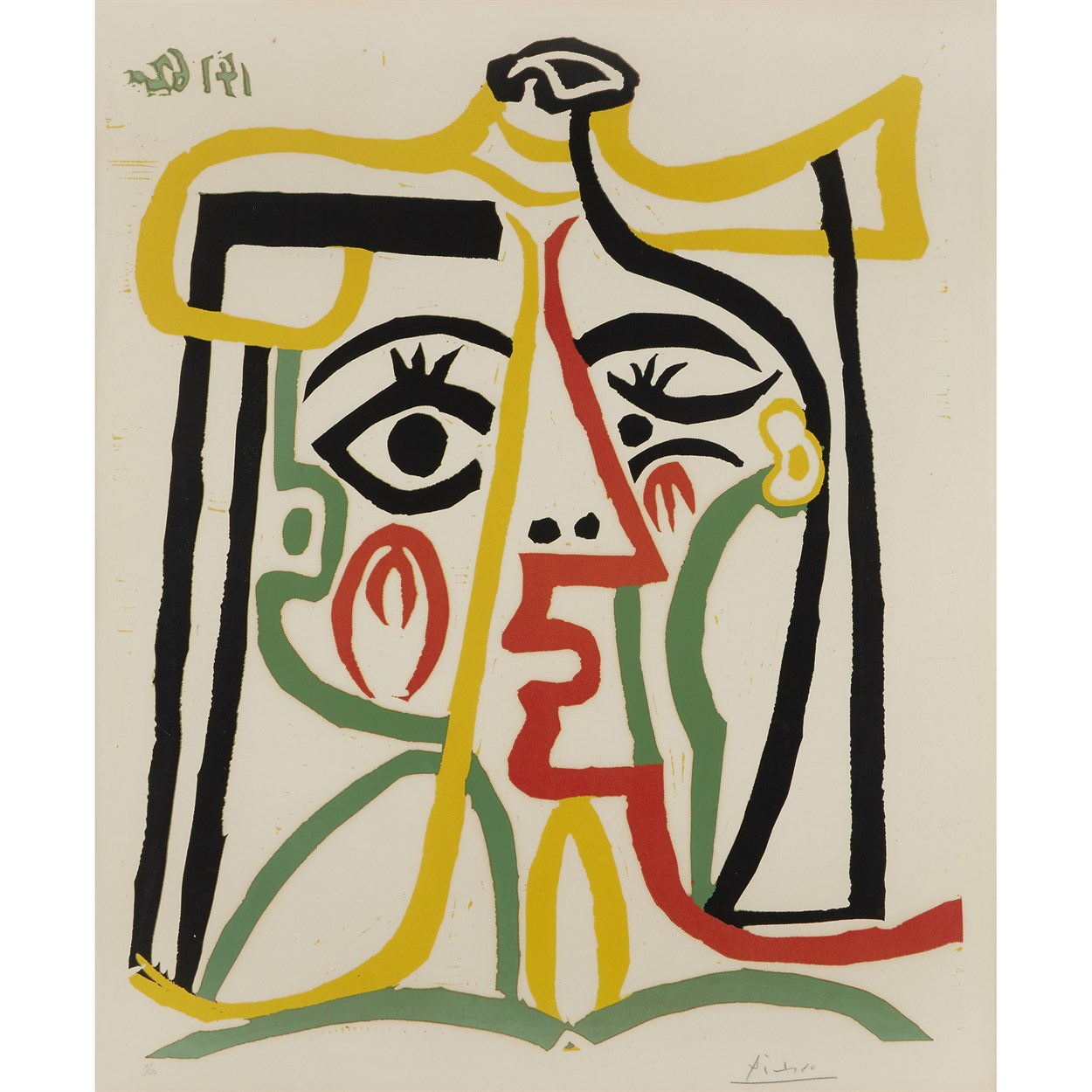 Lot 15 - Pablo Picasso  (Spanish, 1881-1973)