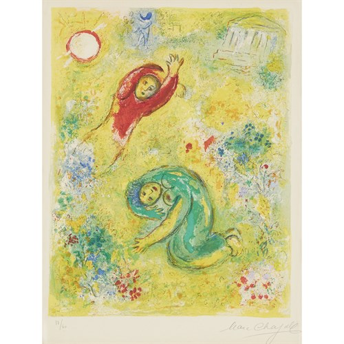 Lot 1 - MARC CHAGALL  (FRENCH/RUSSIAN, 1887-1985)