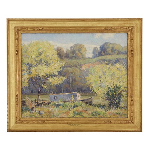 Lot 36 - ALBERT VAN NESSE GREENE  (AMERICAN 1887-1971)