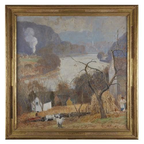 Lot 32 - DANIEL GARBER  (AMERICAN 1880-1958)