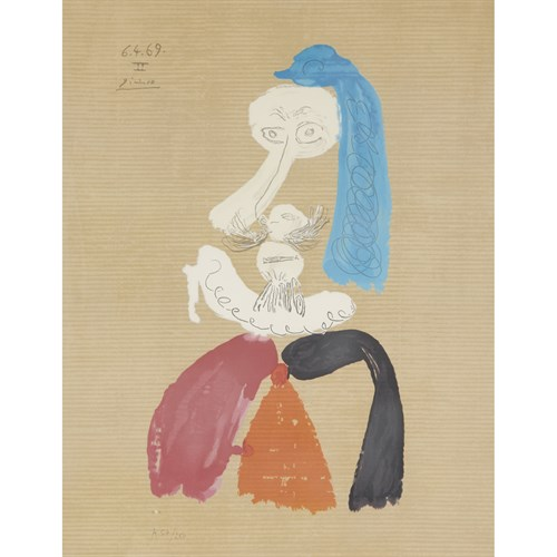 Lot 13 - AFTER PABLO PICASSO  (SPANISH, 1881-1973)