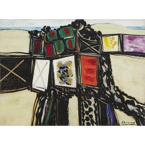 Lot 65 - THOMAS CHIMES  (AMERICAN, 1921-2009)