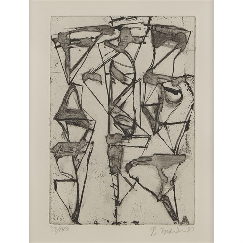 Lot 46 - BRICE MARDEN  (AMERICAN, B. 1938)