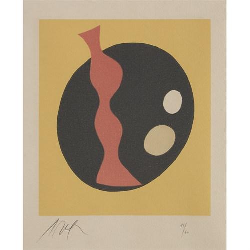 Lot 5 - JEAN (HANS) ARP  (FRENCH/GERMAN, 1886-1966)